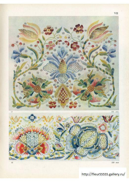 Estonian Folk Art Embroidery patterns | pattern texture motif ...