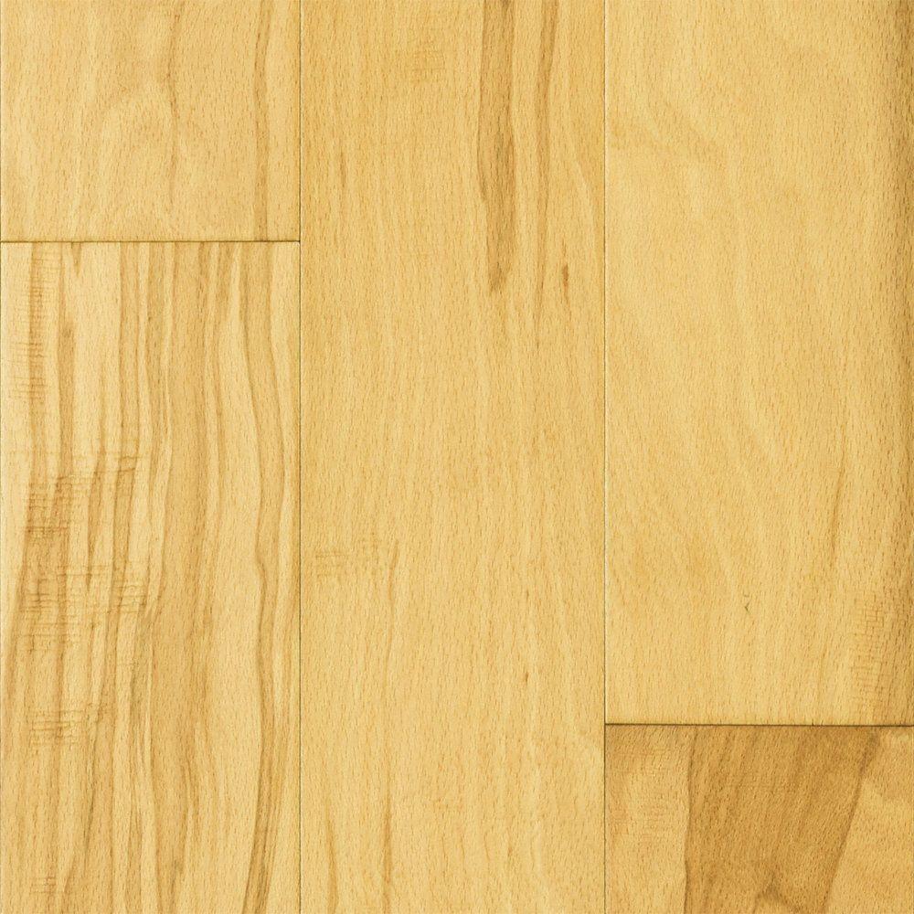 Mayflower Engineered 3 8 X 5 Natural Beech Prefinished Hardwood Flooring