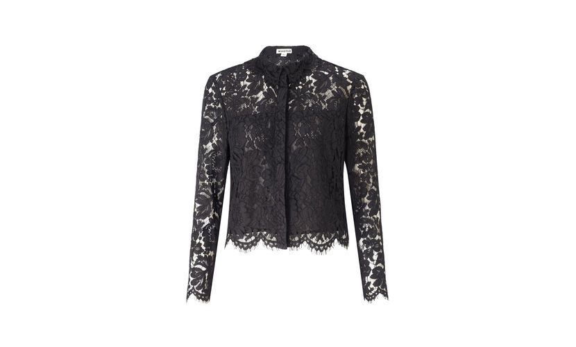 Chay Lace Cropped Shirt