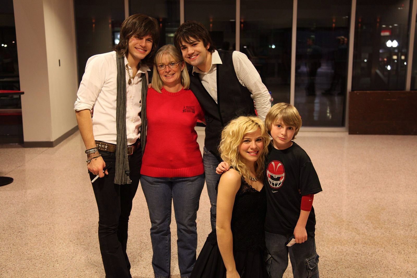 The band perry meet and greet after the concert autographed the band perry meet and greet after the concert autographed tickets and poster kristyandbryce Images