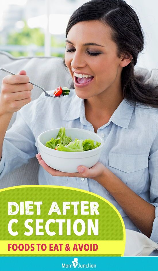 Diet After Cesarean Delivery: Essential Nutrients To Take ...