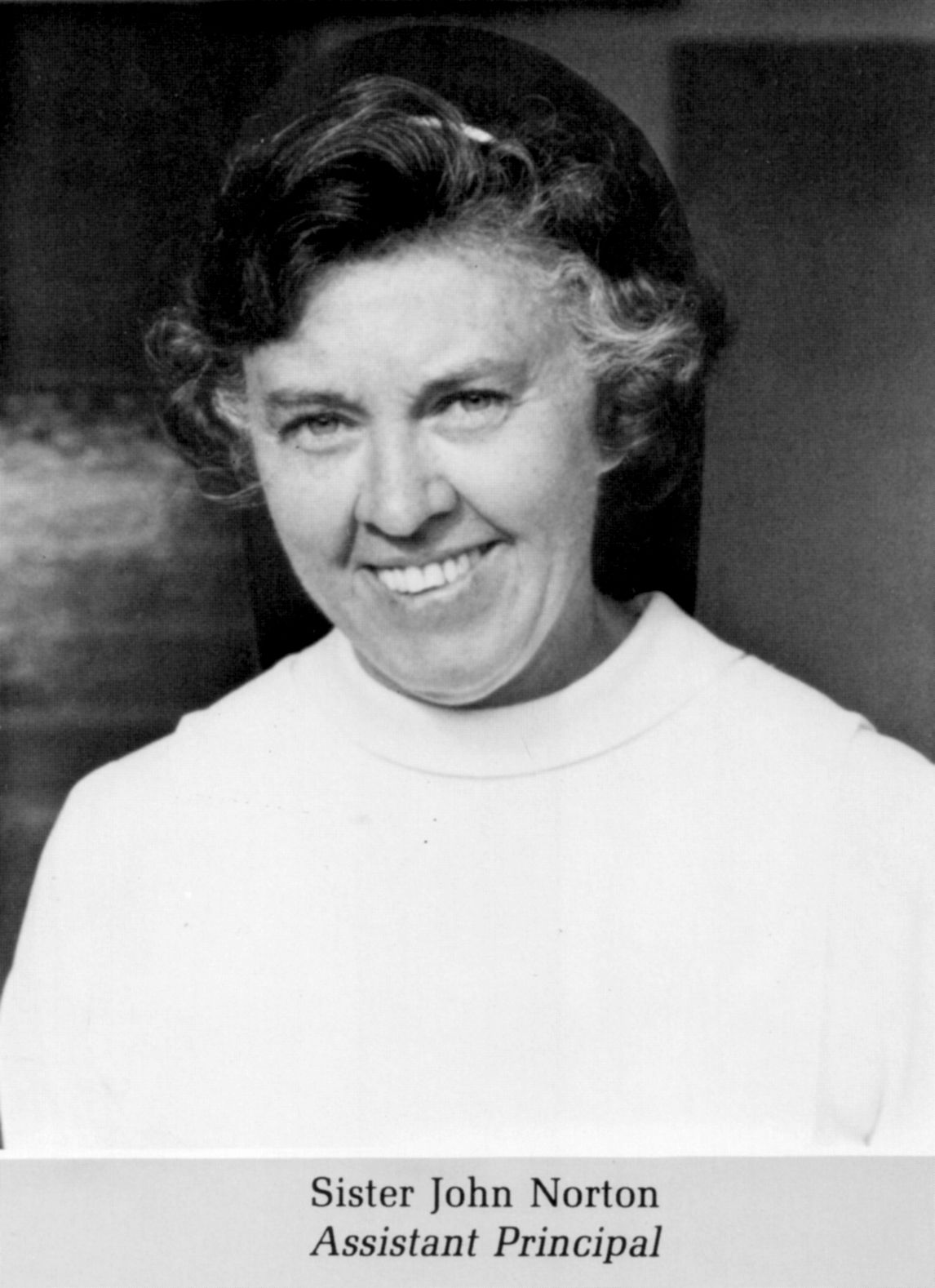 1972 Sister John Norton