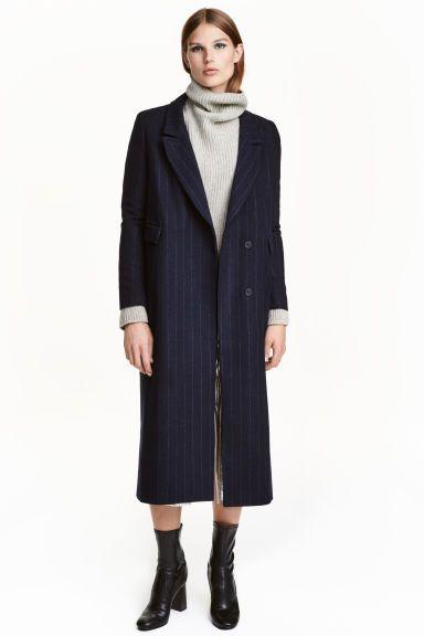 Пальто из смесовой шерсти | H&M