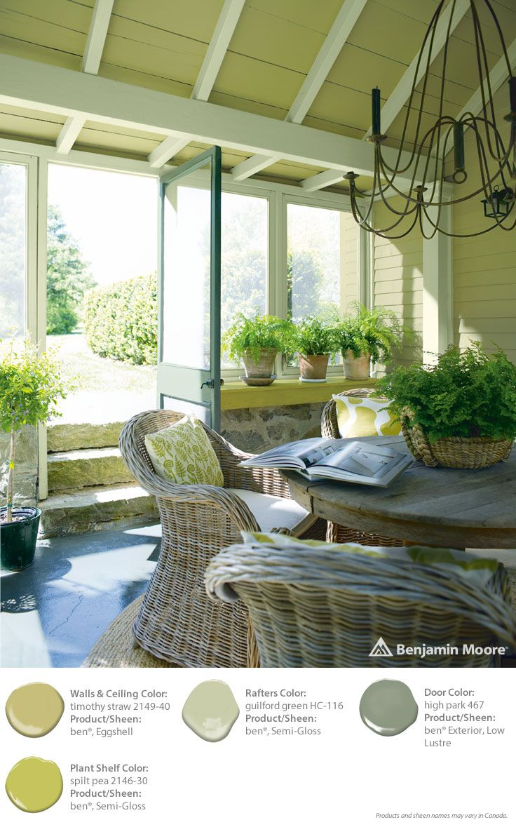 1000  images about benjamin moore greens/greys on pinterest ...