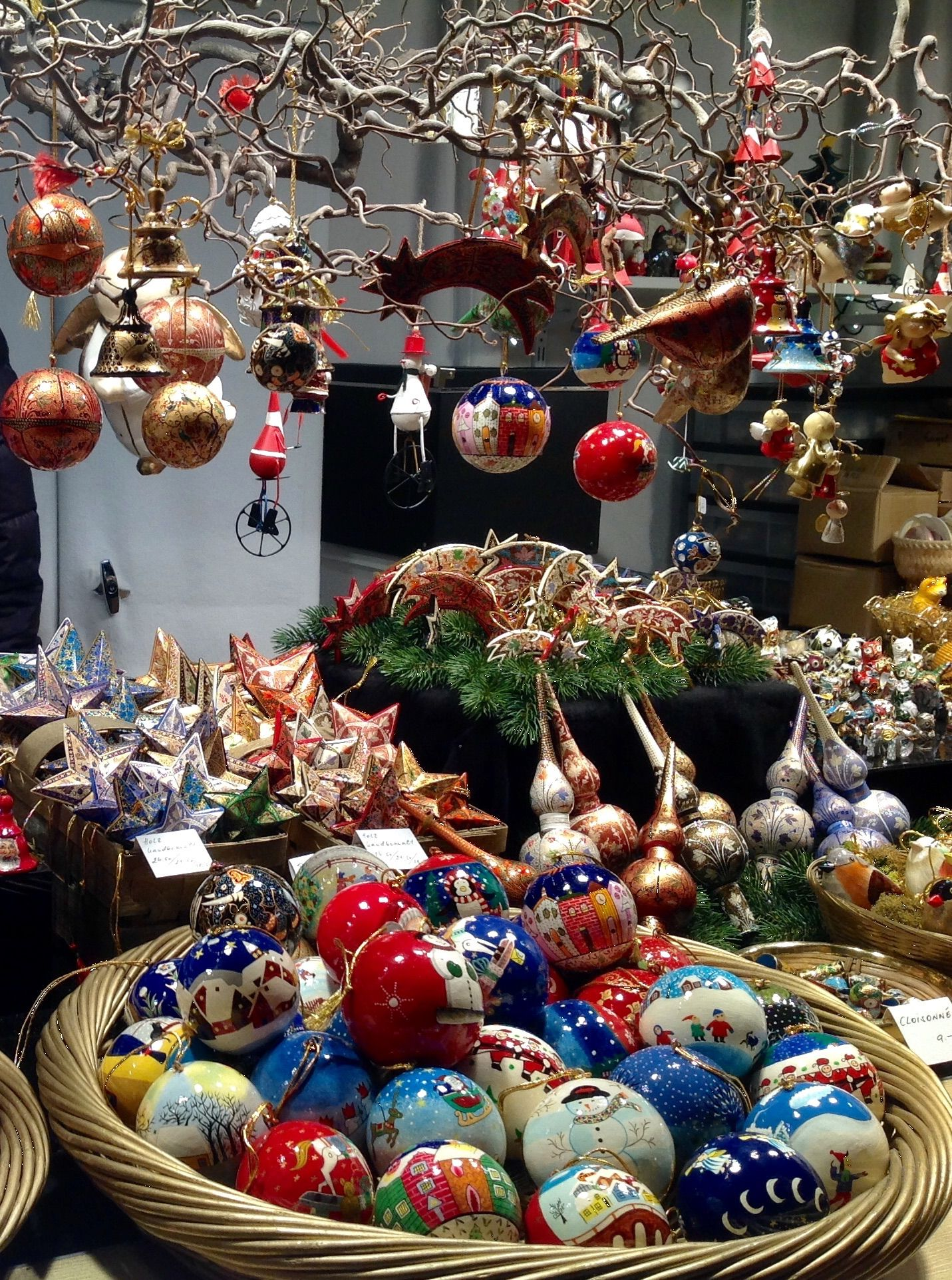 Christmas market in Innsbruk Christmas market, German