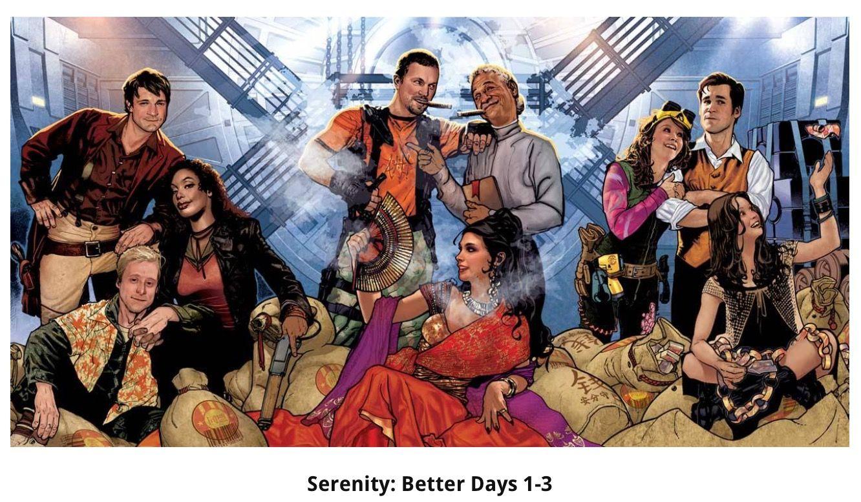 Serenity Better Days    Adam Hughes