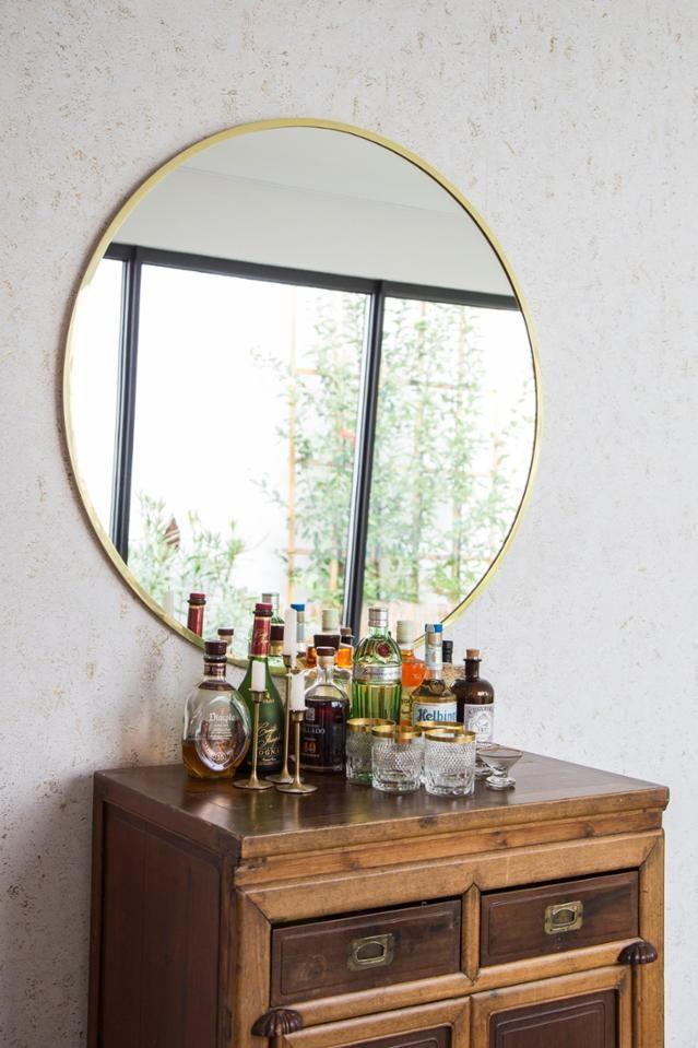 Die Hausbar Klein Aber Mit Großem Spiegel