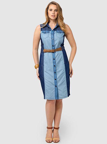 Haley Chambray Dress