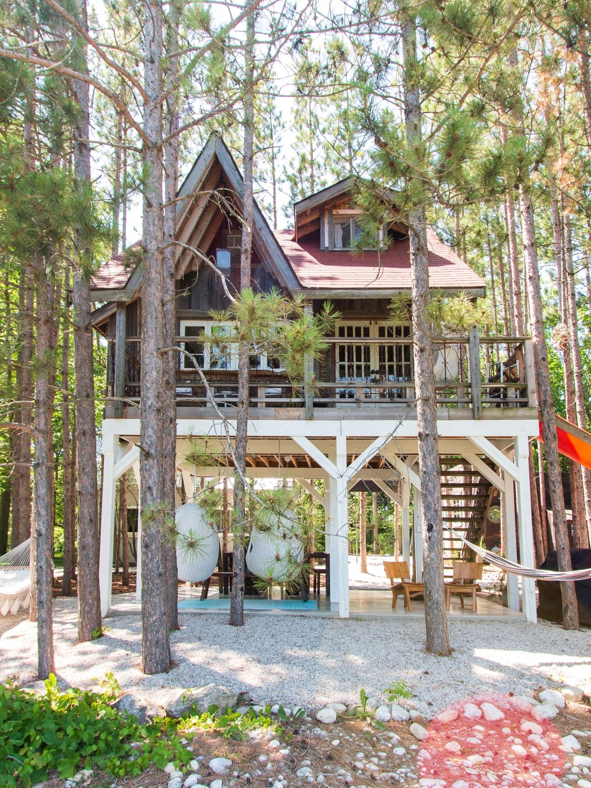 Shop The Treehouse Retreat Embrace The Art Of Slow Living Cool Tree Houses Tree House Designs Tree House