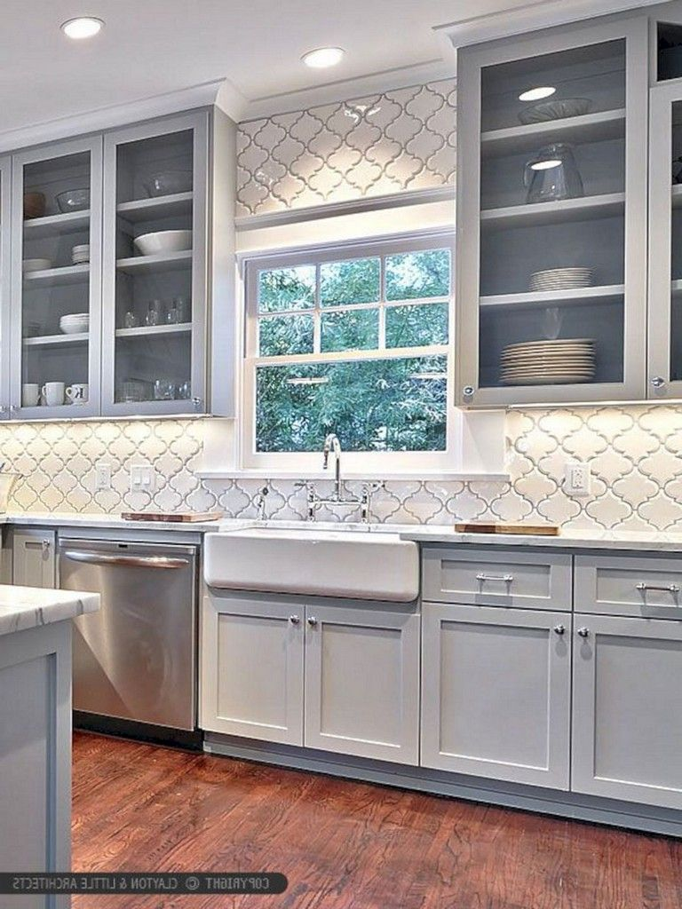 31 Awesome Glitter Kitchen Tiles Ideas You Will Love It Page 26