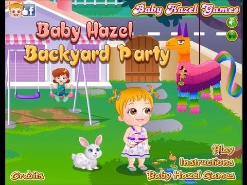 ᶠᵘˡˡ ᴴᴰ Baby Hazel Backyard Party (With images)   Baby ...