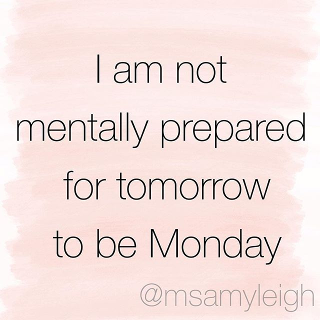 N O T P R E P A R E D Monday Beprepared Notprepared Tired Exhausted Mental Makeithappen Iwantmybed Weekend Meme F Instagram Posts Mental Memes
