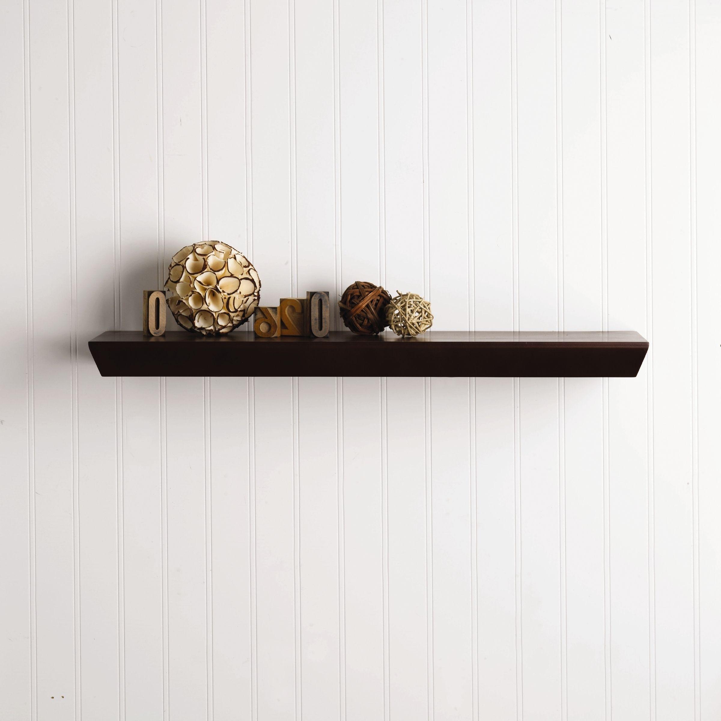Melannco Java Bedford 24-inch Floating Wall Shelf by Melannco ...