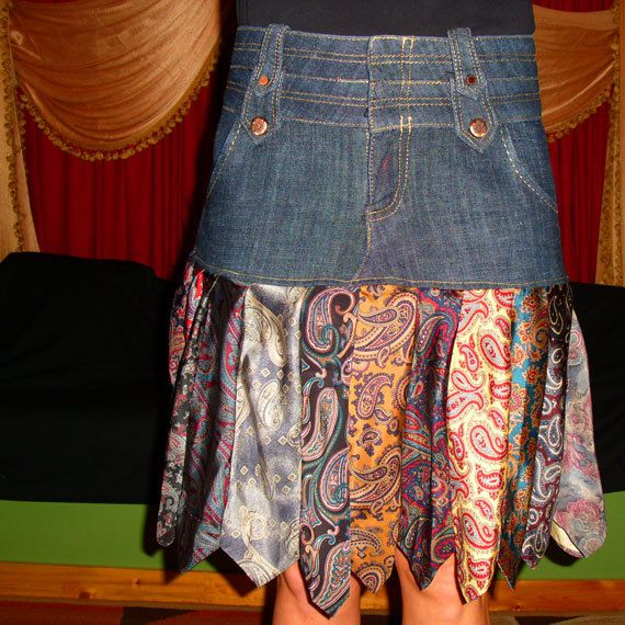 Skirt Made From Ties 90
