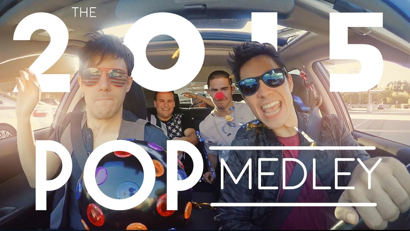 2015 Pop Medley!! (Sam Tsui & KHS) (มีรูปภาพ)