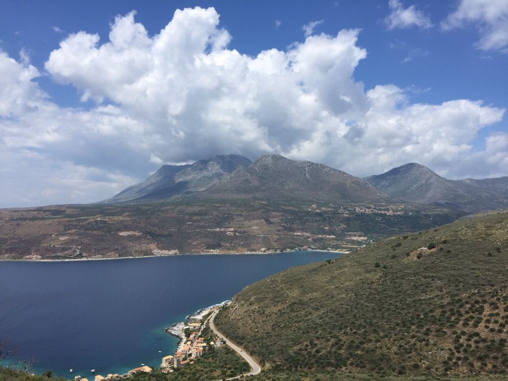 Mani region of Greece