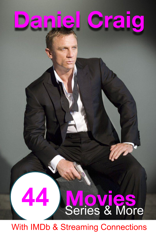 All Movies and TV series of Daniel Craig with IMDb ratings ...