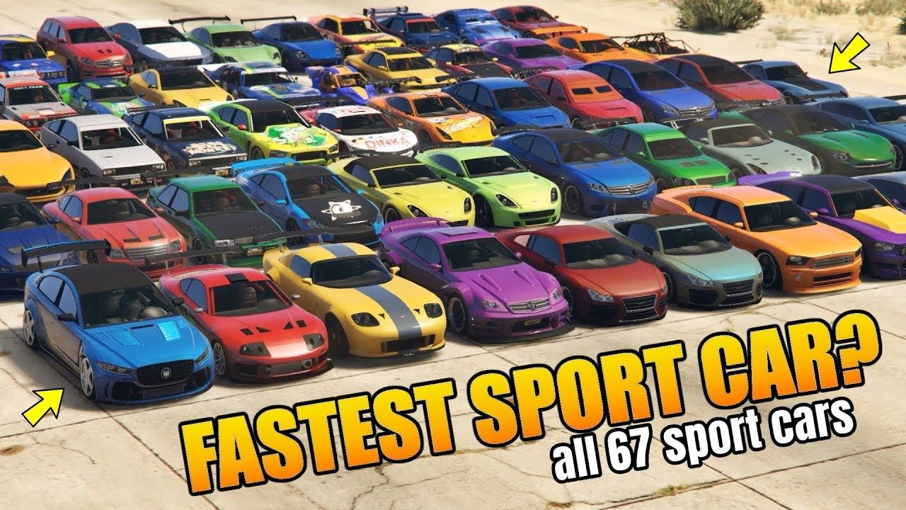 Gta 5 Online Which Is Fastest Sport Cars Ranked From Slowest To