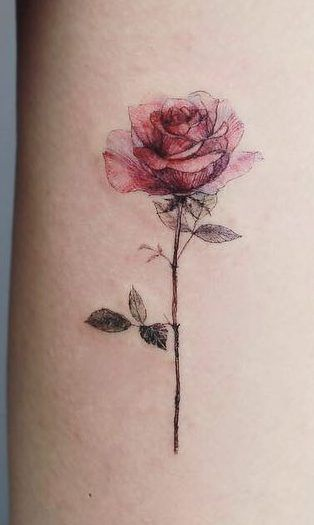 40+ Gorgeous Flower Tattoo Designs Ideas and Images - Page 40 of 40 - Womensays.com Women Blog
