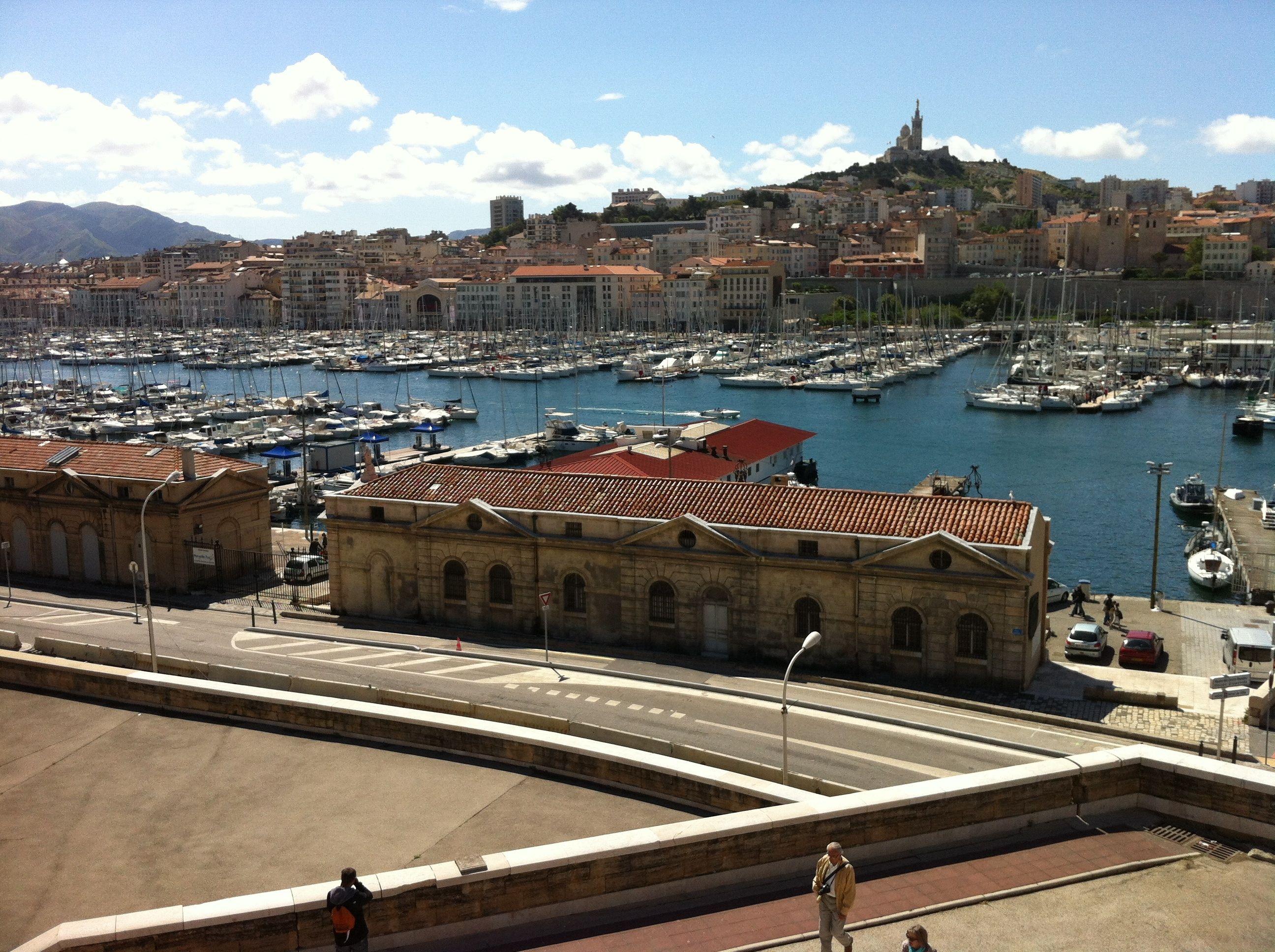 Le Vieux Port - photo Marseille de Monique DESCOT - 17 mai 2013