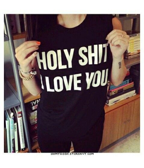 I would love this shirt the shirt is amazing