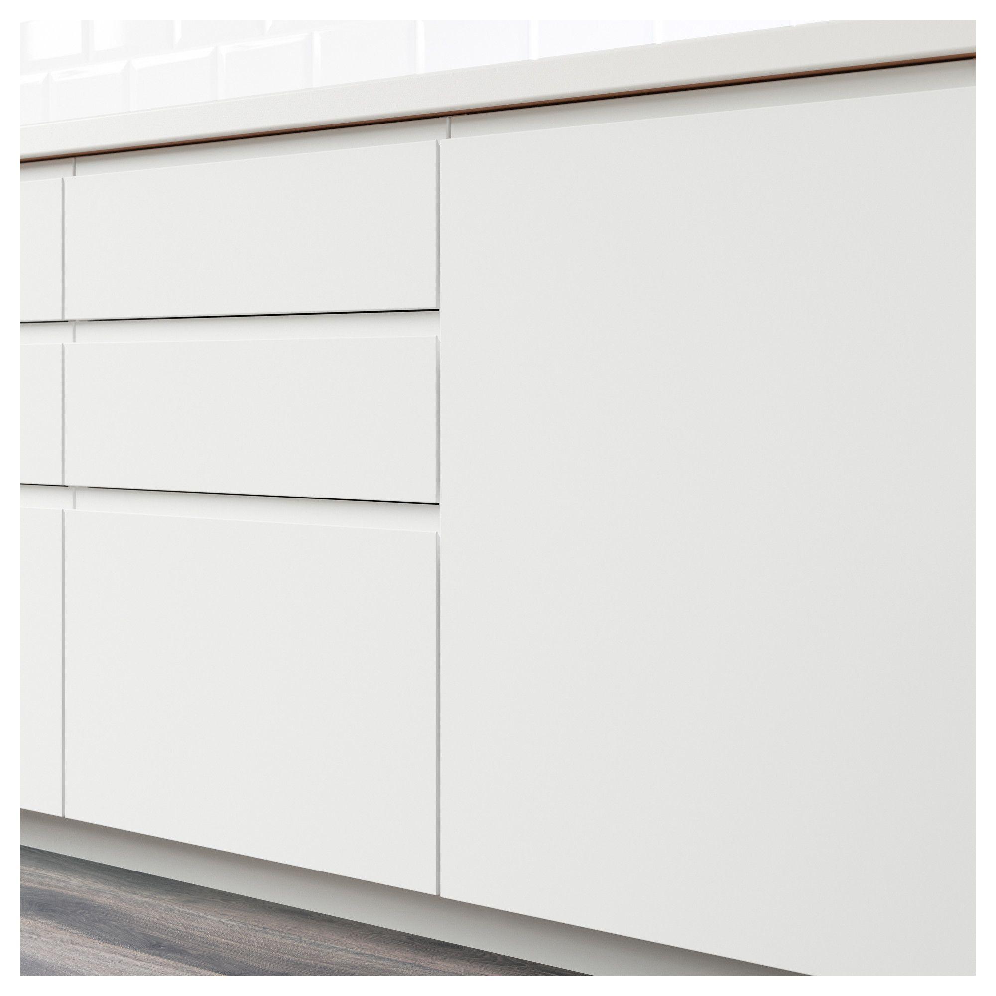 Voxtorp Porte Blanc Blanc Mat In 2018 Cuisine