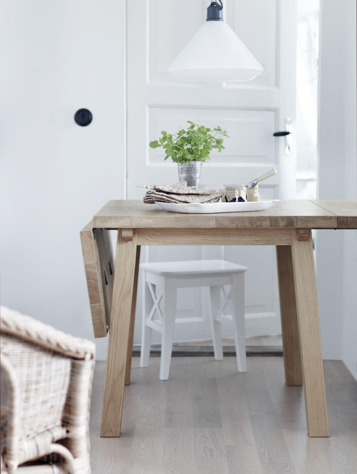 Table A Rabats En Chene Mockelby Table Ikea Table A Rabat Maison Ikea