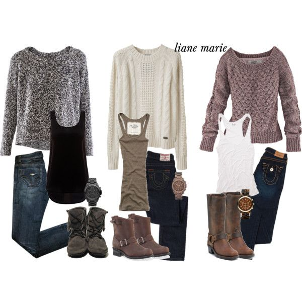 Fall Outfits | I'd wearrrrr it | Pinterest | Pullover, Clothes and ...