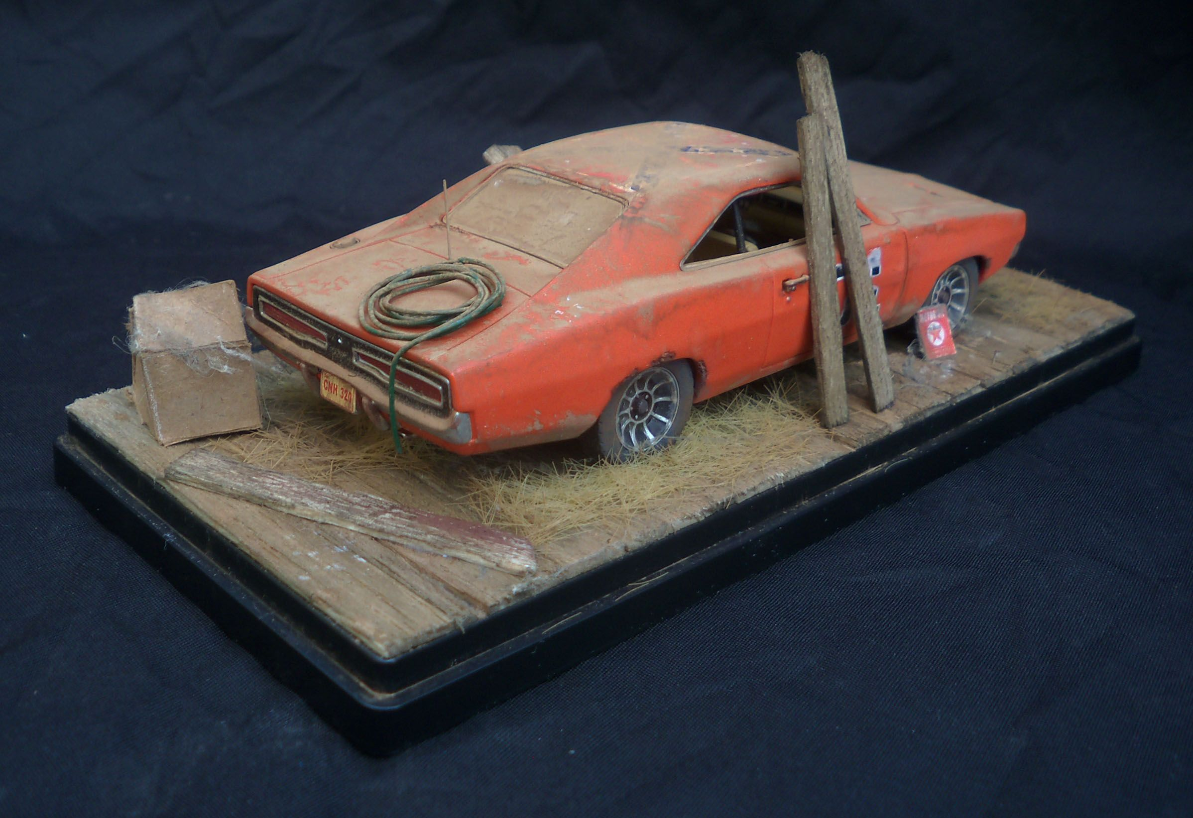 1/43 diorama for sale on Ebay  | Weathered Barn Finds Automotive Art