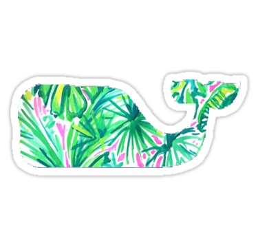 Green Whale Sticker In 2019 Vsco Stickers Printable Stickers