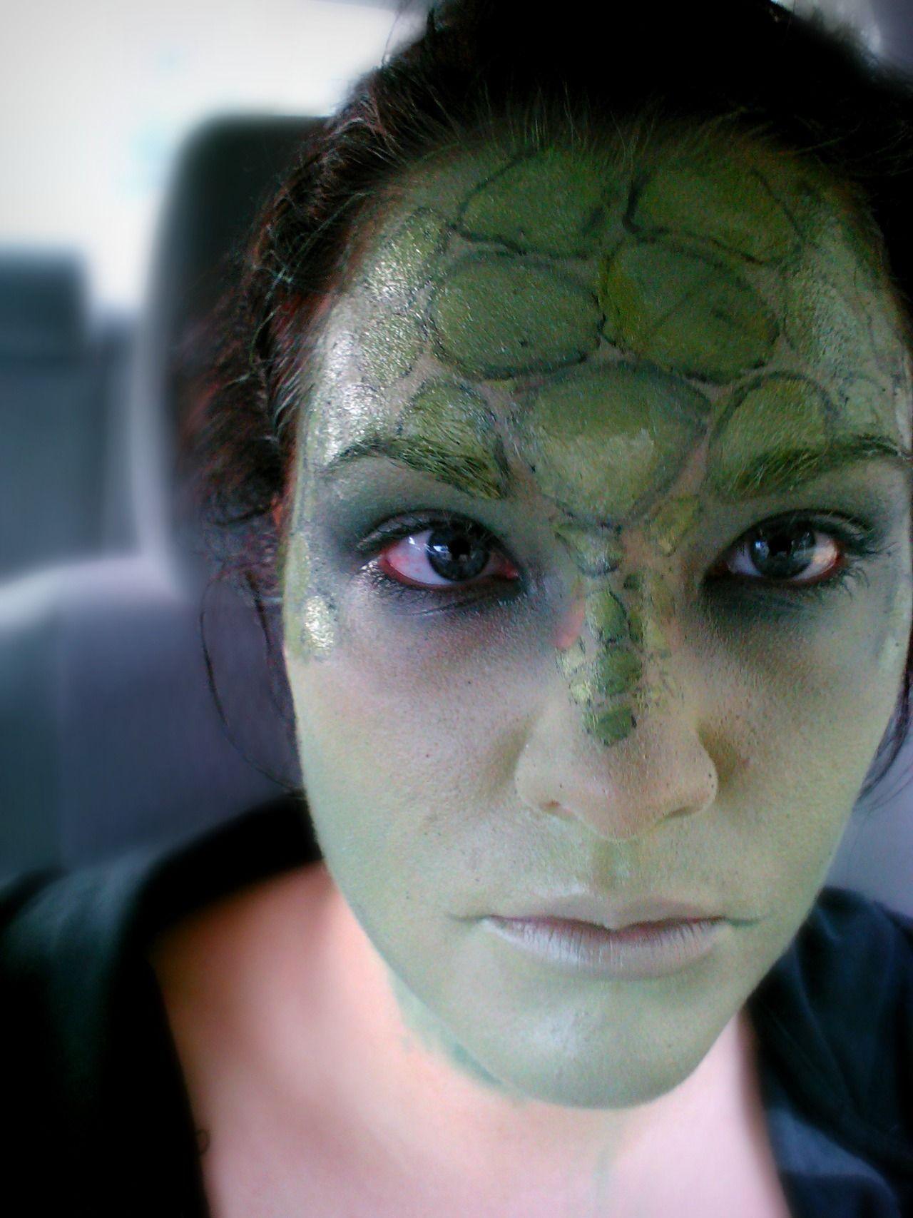 Lizard makeup Make up Art