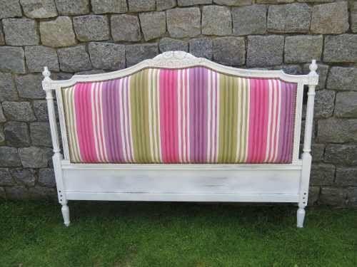 Antiguo respaldo cama frances luis xvi reciclado para - Respaldos para camas ...