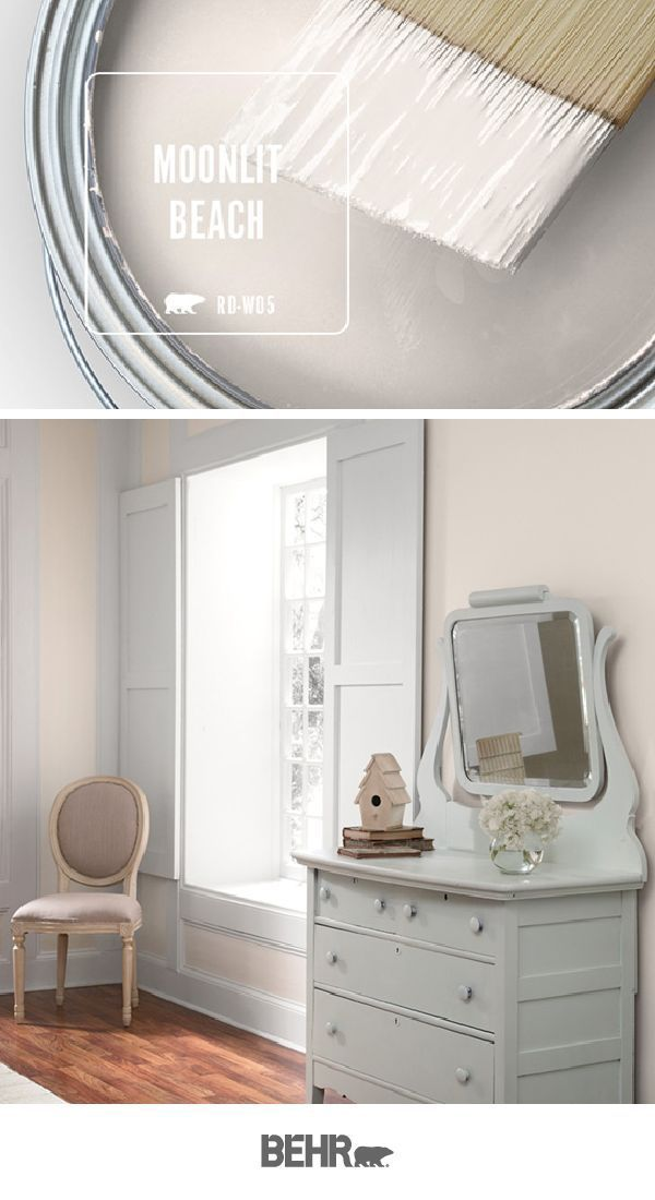 Color Of The Month Moonlit Beach Paint Colors For Home Behr