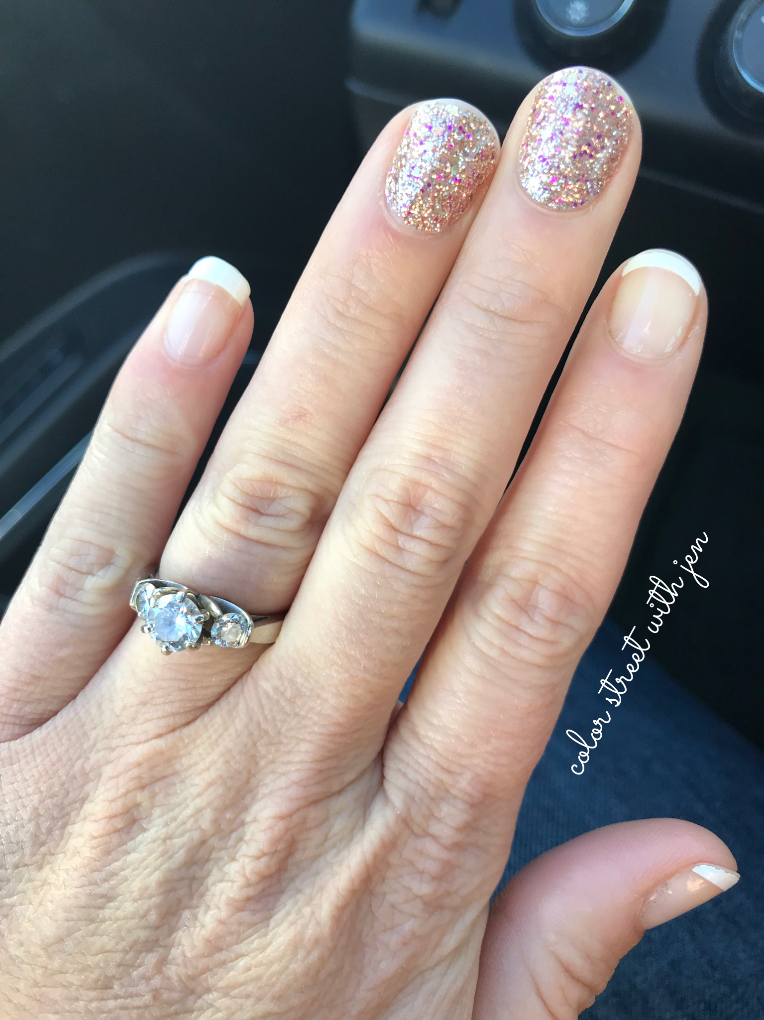 Tokyo Lights and Meet Me in Paris French Manicure | Color Street ...
