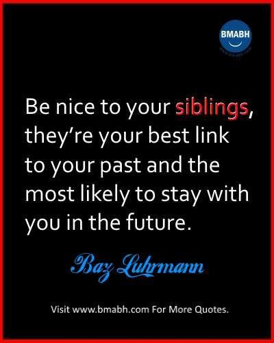 Best Cute Funny Sibling Quotes And Sayings Siblings Sibling