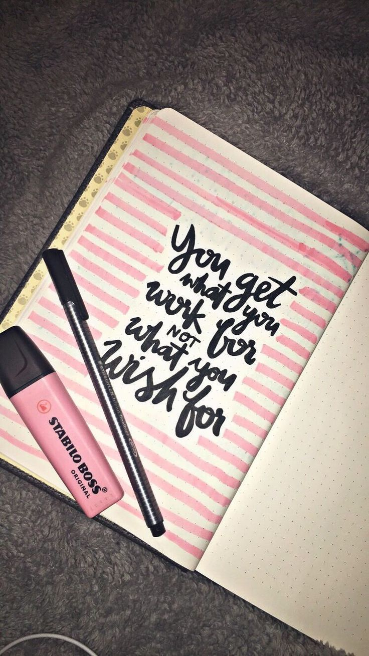 70 Inspirational Calligraphy Quotes for Your Bullet Journal - The Thrifty Kiwi #bulletjournaling