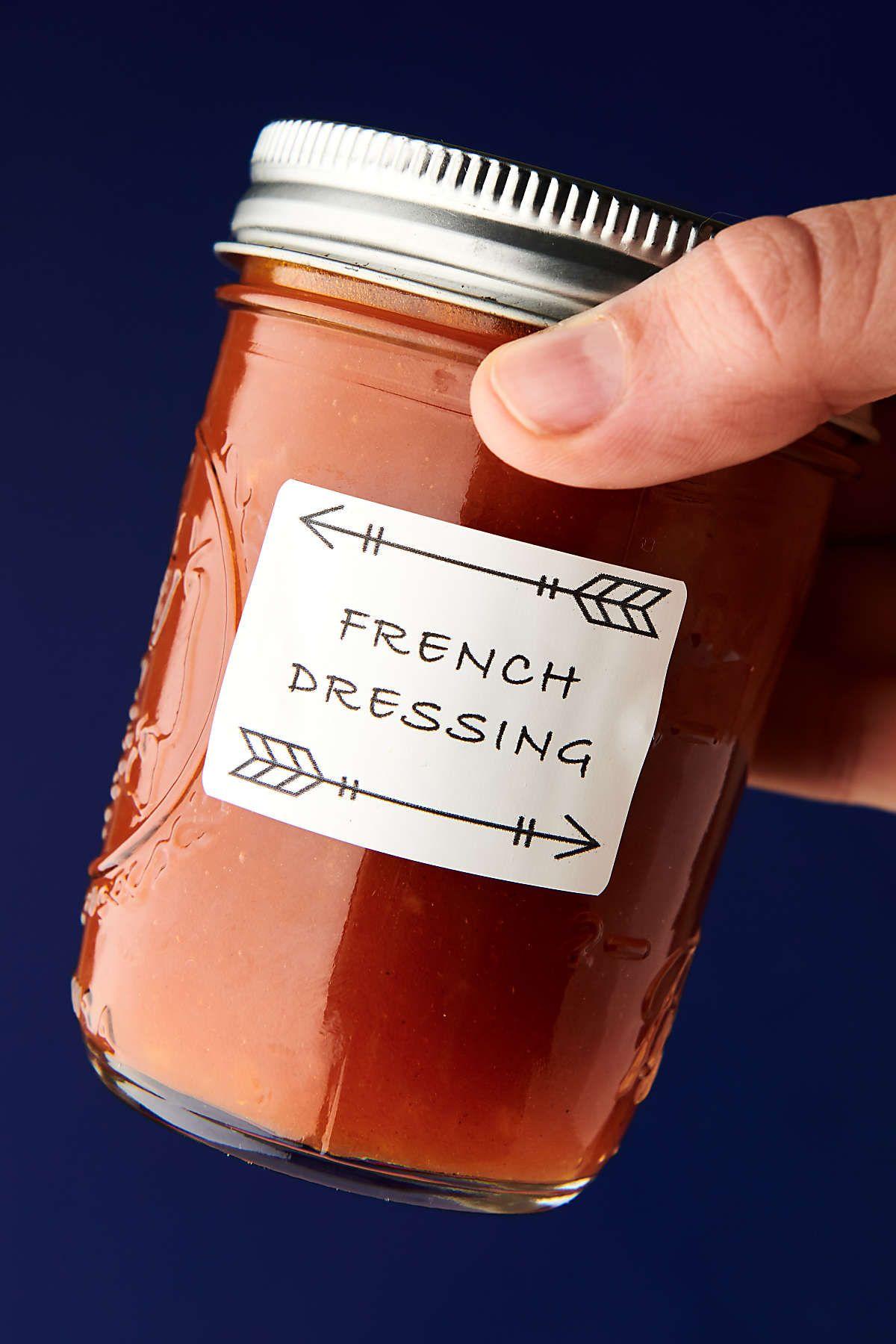 Healthy Homemade French Dressing Recipe Vegan Gluten Free Recipe In 2020 Homemade French Dressing Healthy Dressing Recipes French Dressing