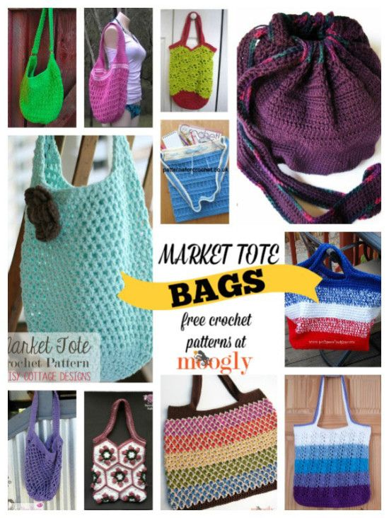 12 Free Market Tote Bag Crochet Patterns Stop Searching And Start