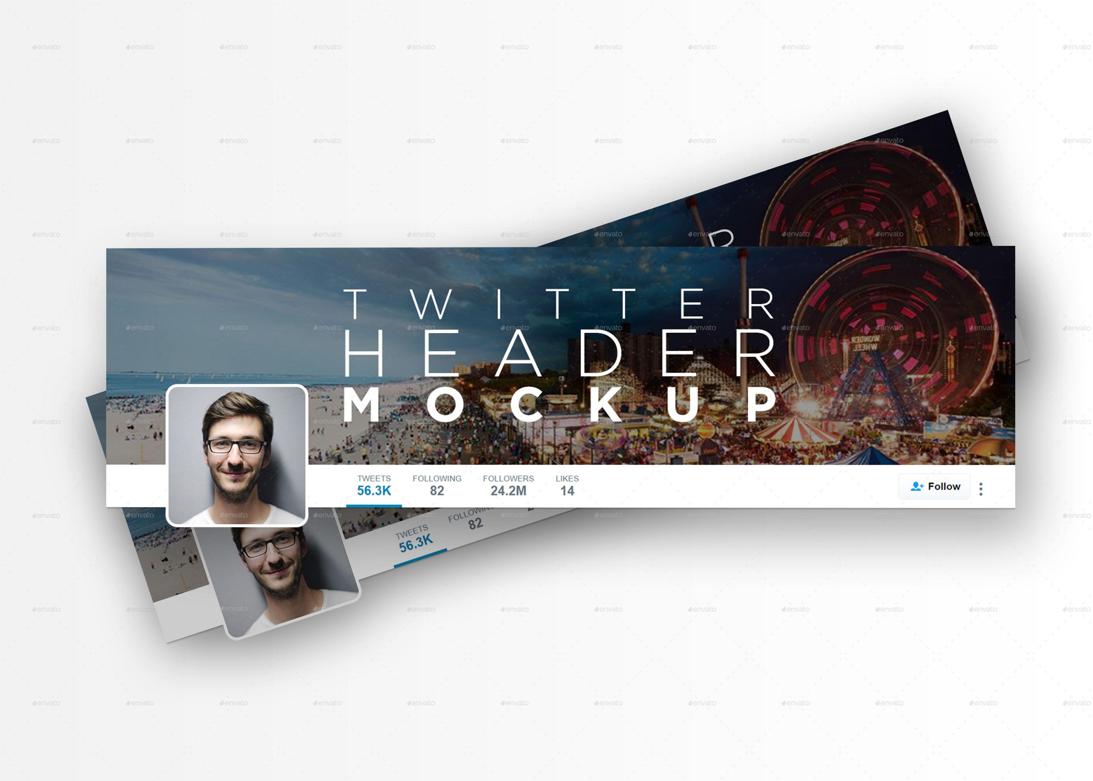 Twitter Header Mockup Twitter Header Mockup Header