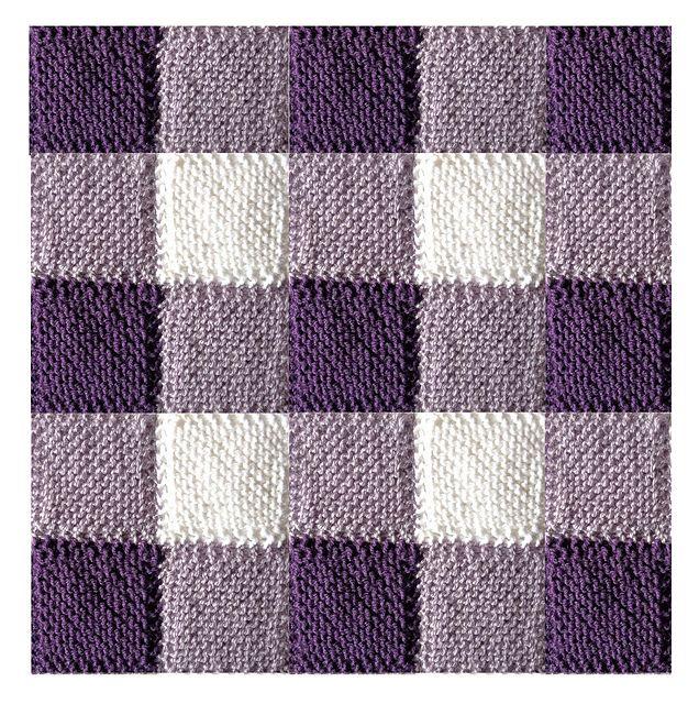 Ravelry: Blanket Square Diagonal Garter Stitch pattern by Audrey ...