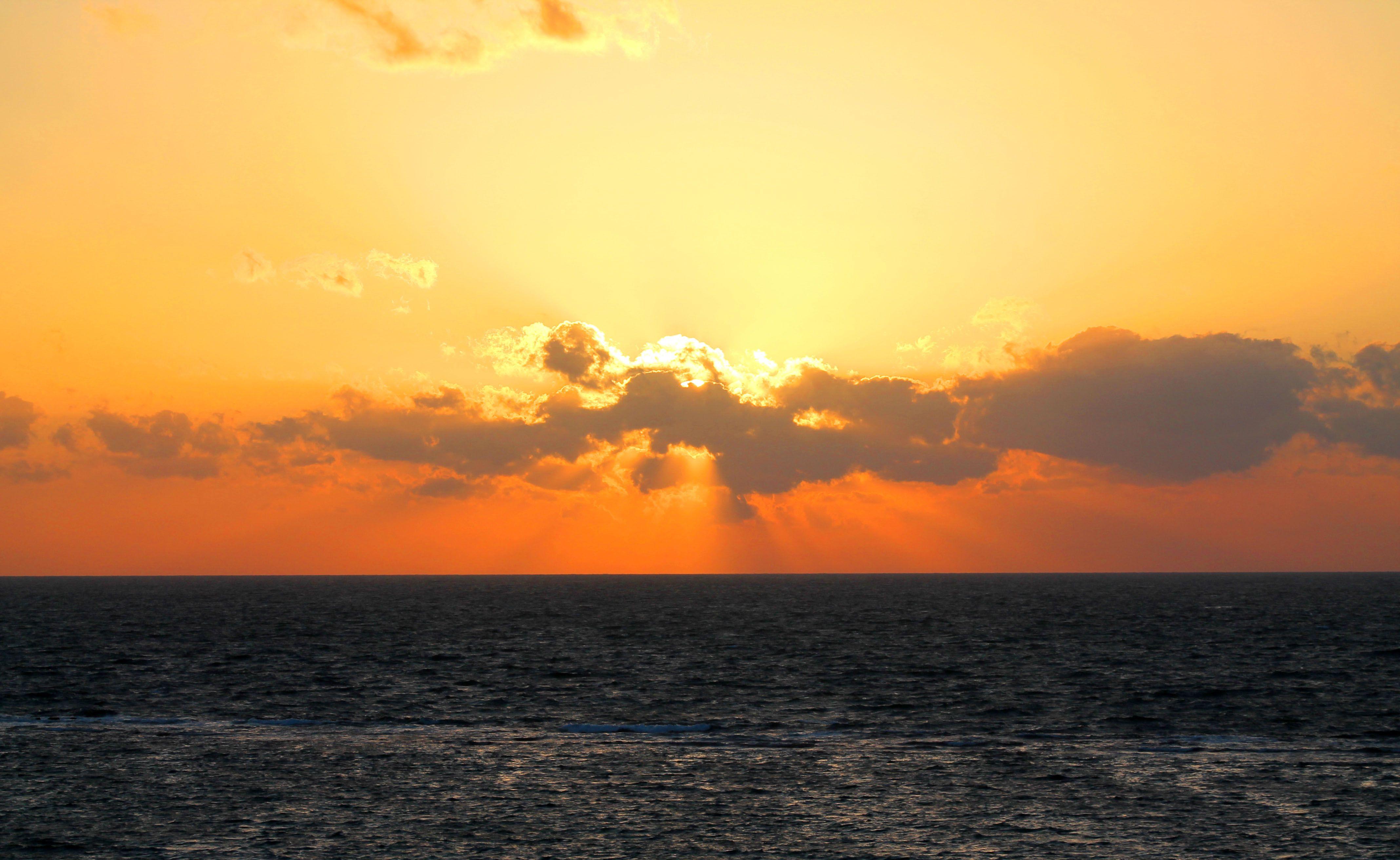 غروب الشمس الأسكندرية 10 مايو 2013 Sunset Outdoor Celestial