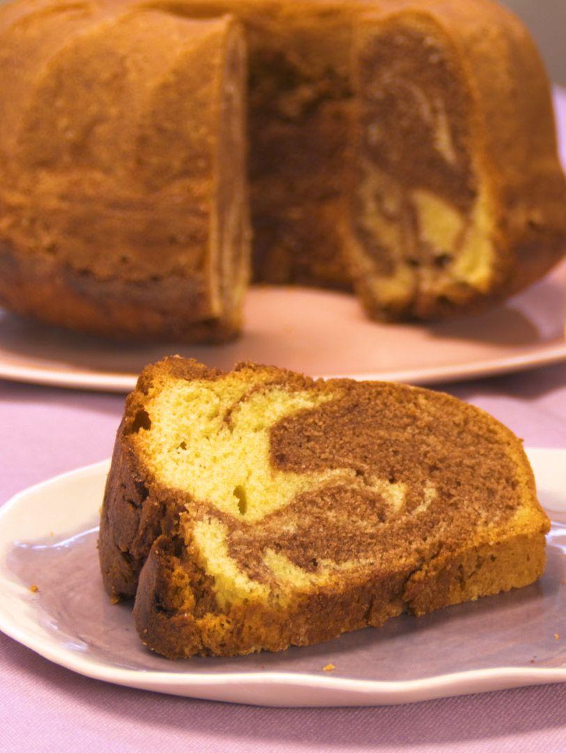 Saftiger Marmorkuchen mit Nutella und Eierlikör