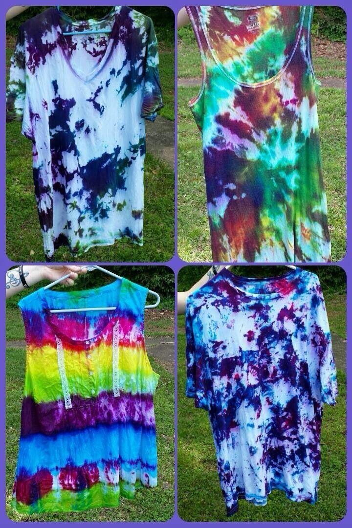 Tye dye shirts for family reunion