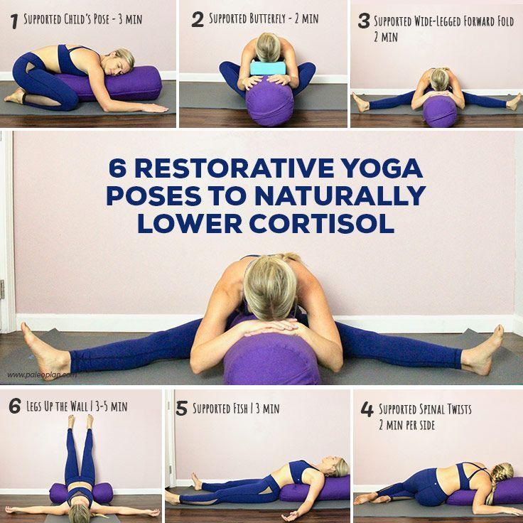 Photo of 6-Restorative-Yoga-Posen-zu-natürlich-niedriger-Cortisol-infog.jpg #cortisol #easy # …