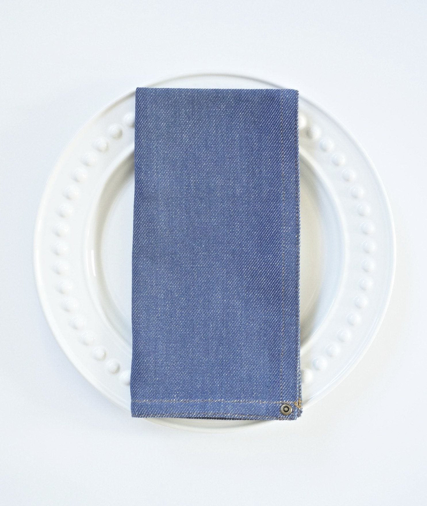 Casual Dining Napkins: Embroidered And Monogrammed