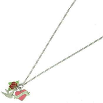 tattoo charm necklace