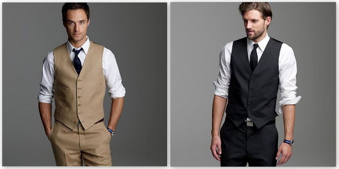 Casual wedding attire. Vest and pants combo for different wedding ...