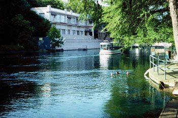 Aquarena Springs Hotel San Marcos Texas