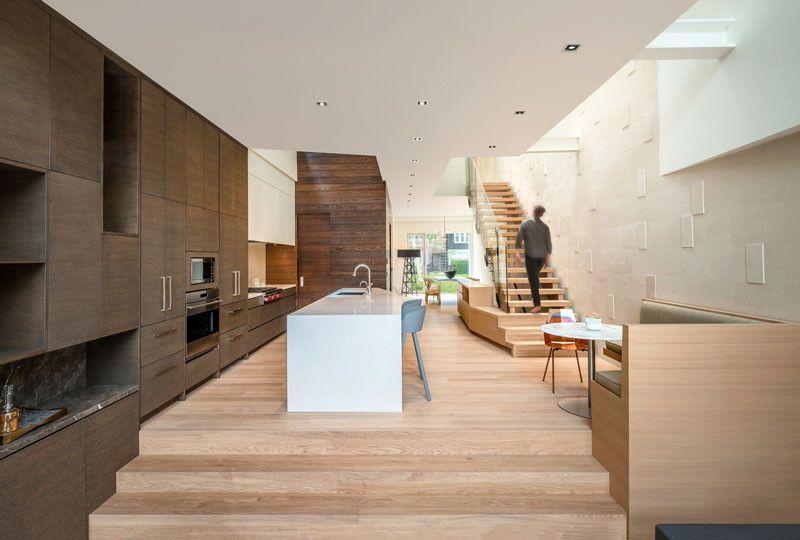 image result for inside a split level home design interiorskitchen - Split Level Interior Design