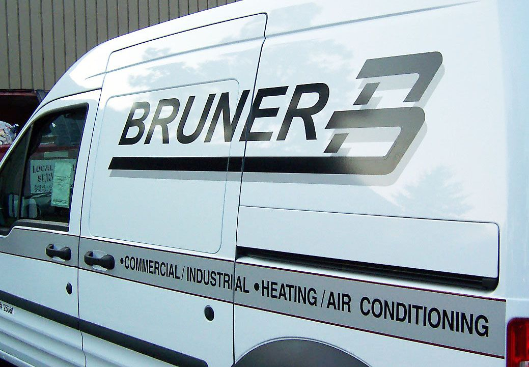Bruner Fleet Graphics Columbus Ohio Heating And Air